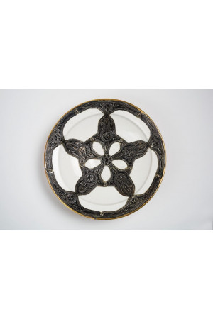 Embroidered Plate - Large