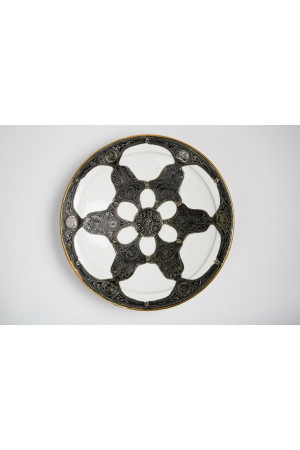 Embroidered Plate - Extra Large