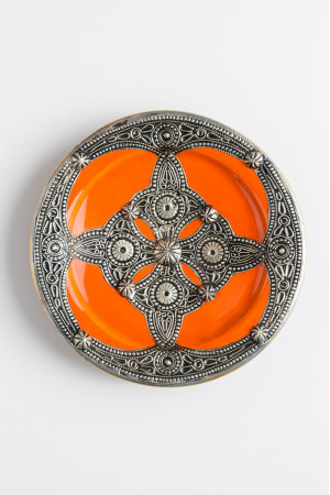 Embroidered Plate - Extra Small